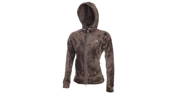 The North Face Women's Nashira Mossbud FZ Hoodie weim. brown